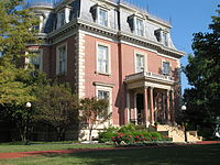 The Governor's Mansion is on the National Register of Historic Places.