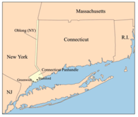 """The Connecticut Panhandle and """"The Oblong"""""""