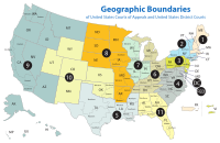 U.S. Courts of Appeals circuits