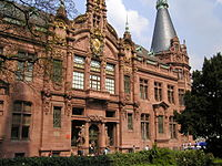 The main building of the University Library, built in 1905.