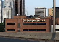 Headquarters of the Hartford Courant