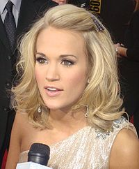 Underwood at the 2009 American Music Awards