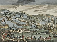 British forces seizing the Isle of France on 2 December 1810