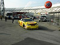 Park's 2001 Cup car at Dover (at the time being driven by Kenny Wallace)