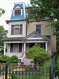 A Victorian house in the Sheridan Park Historic District