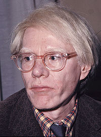 """Andy Warhol coined the phrase """"15 minutes of fame"""""""