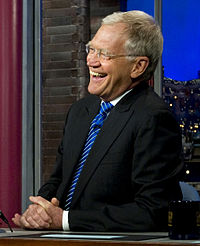 David Letterman, comedian and former American late night talk show host