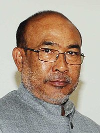 List of chief ministers of Manipur