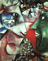 Marc Chagall, I and the Village, 1911