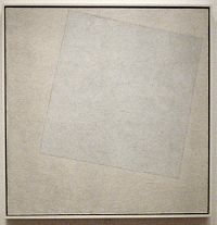 {{nowrap|Kazimir Malevich}}, {{nowrap|Suprematist Composition:}} {{nowrap|White on White}}, 1918