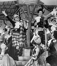 """A scene from the I Love Lucy episode """"Lucy Goes to Scotland"""", 1956"""