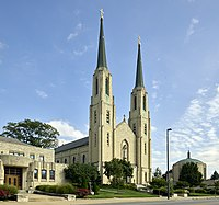 Cathedral of the Immaculate Conception, co-cathedral of the Roman Catholic Diocese of Fort Wayne-South Bend