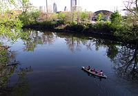 Canoeing on the St. Marys River