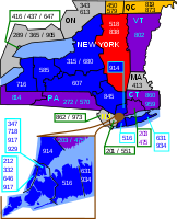 Area codes 518 and 838