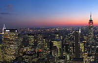 New York, the most populous city in the Northeast and all of the United States