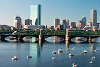 Boston, the most populated city in Massachusetts and New England and the fourth most populated city in the Northeast