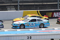 Vickers during the 2013 STP Gas Booster 500