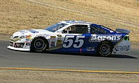 Vickers driving the 55 at Sonoma Raceway in 2014