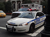 Law enforcement in the U.S. is maintained primarily by local police departments. The New York Police Department (NYPD) is the largest in the country.