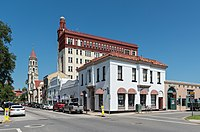 St. Augustine, Florida, the oldest continuously occupied European-established settlement in the continental United States (1565)