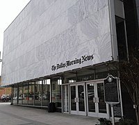 Headquarters of The Dallas Morning News