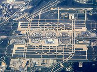 In 2015, the DFW International Airport was the 10th busiest airport in the world by passenger traffic.