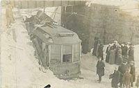 Pittsfield Trolley, early 20th century
