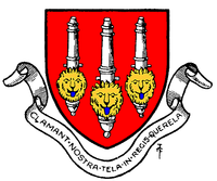 The first badge adopted by Royal Arsenal FC