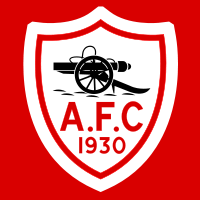 The 'monogram' badge as used in the 1930 FA Cup Final