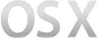 OS X logo from 2012–2013