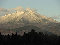 Whiteface Mountain is the fifth-highest mountain in the U.S. state of New York, and one of the High Peaks of the Adirondack Mountains.