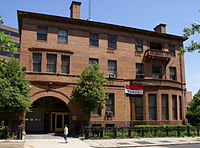 The Iraqi consular services office, located in the William J. Boardman House on P Street