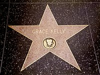Kelly's star on the Hollywood Walk of Fame