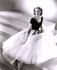 Kelly in a promotional photograph for Rear Window (1954)
