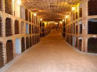 Mileștii Mici is home to the world's biggest wine cellars.