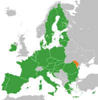 Accession to the EU is a central issue in Moldovan politics
