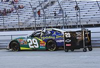 Leicht's Nationwide car in 2009 at Milwaukee