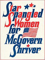 MacLaine conceived and produced the variety show Star-Spangled Women for McGovern–Shriver