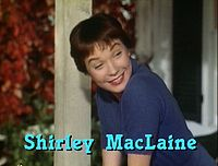MacLaine in her debut film The Trouble with Harry (1955)