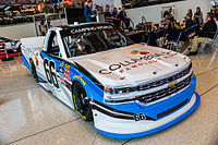 Anderson's 2016 No. 66 Truck at the NASCAR Hall of Fame