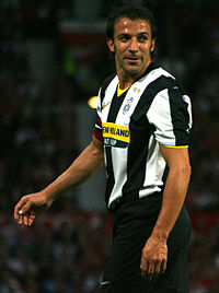 Alessandro Del Piero made a record 705 appearances for Juventus, including 478 in Serie A and is the all-time leading goalscorer for the club, with 290 goals.