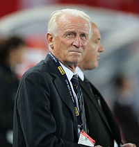 Giovanni Trapattoni, the longest serving and most successful manager in the history of Juventus with 14 trophies