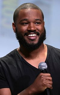 Coogler promoting Black Panther at the 2016 San Diego Comic-Con