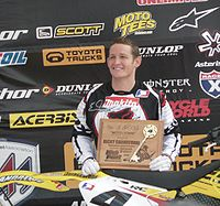 """Carmichael receiving a Key to the City of Morgantown, West Virginia (""""Moto-Town"""") in 2007"""