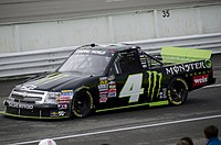 Carmichael's No. 4 for Turner Motorsports in the Truck Series race at Pocono in 2011