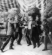 Assassination of William McKinley at the Temple of Music, 1901