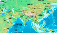 Xiongnu among other people in Asia around 1 AD.