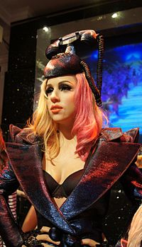 In 2010, eight wax figures of Gaga were installed at the museum Madame Tussauds.