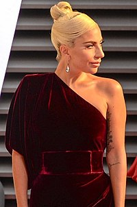 Gaga at the 2018 Toronto International Film Festival prior to the screening of A Star Is Born