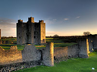 Norman keep in Trim, County Meath